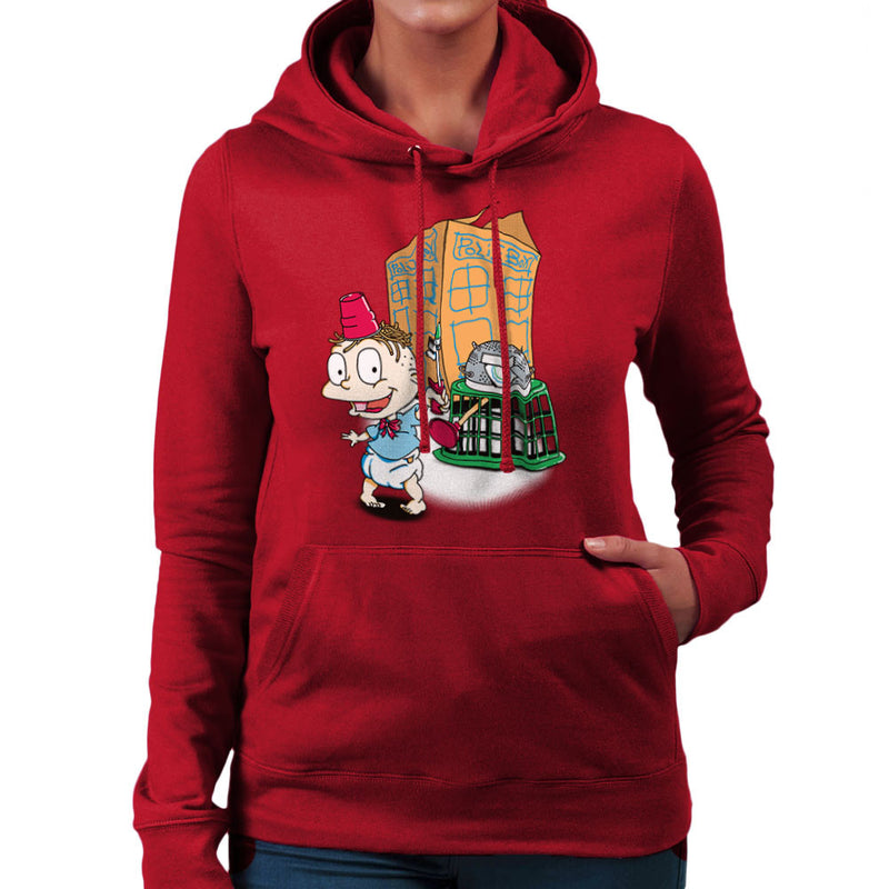 Rugrats Tommy Who Tardis Women's Hooded Sweatshirt Women's Hooded Sweatshirt Cloud City 7 - 15