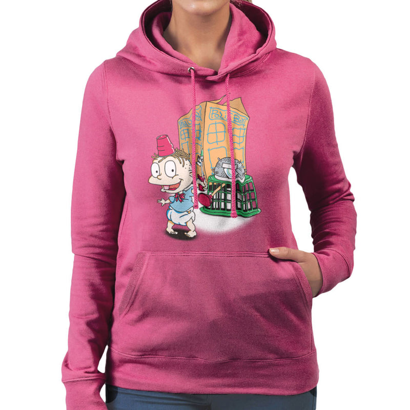 Rugrats Tommy Who Tardis Women's Hooded Sweatshirt Women's Hooded Sweatshirt Cloud City 7 - 20