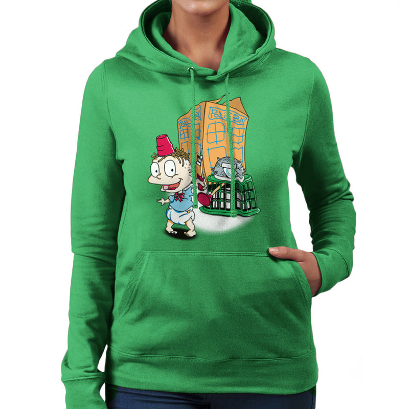 Rugrats Tommy Who Tardis Women's Hooded Sweatshirt Women's Hooded Sweatshirt Cloud City 7 - 14