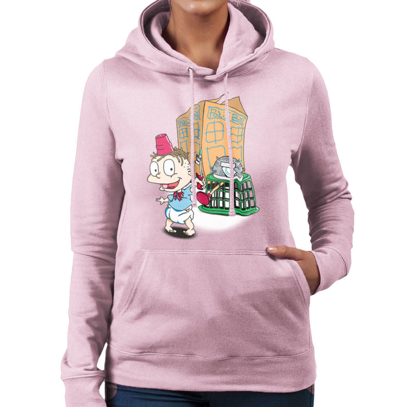 Rugrats Tommy Who Tardis Women's Hooded Sweatshirt Women's Hooded Sweatshirt Cloud City 7 - 21