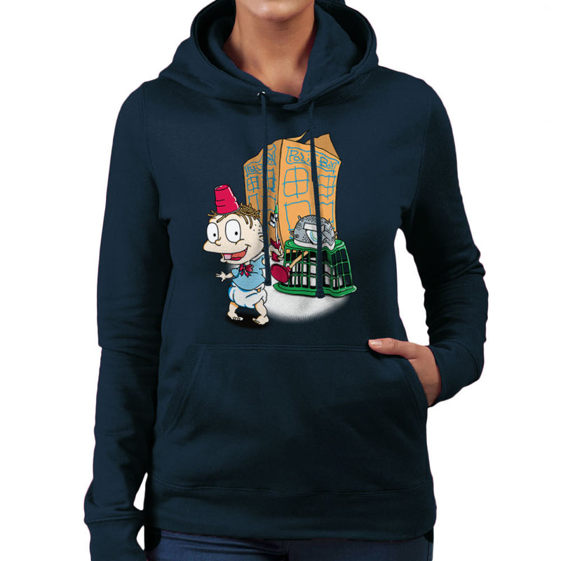 Rugrats Tommy Who Tardis Women's Hooded Sweatshirt Women's Hooded Sweatshirt Cloud City 7 - 7