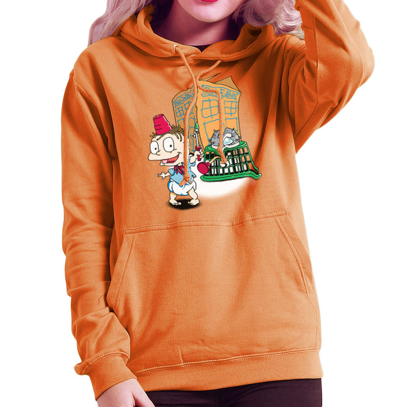 Rugrats Tommy Who Tardis Women's Hooded Sweatshirt Women's Hooded Sweatshirt Cloud City 7 - 17