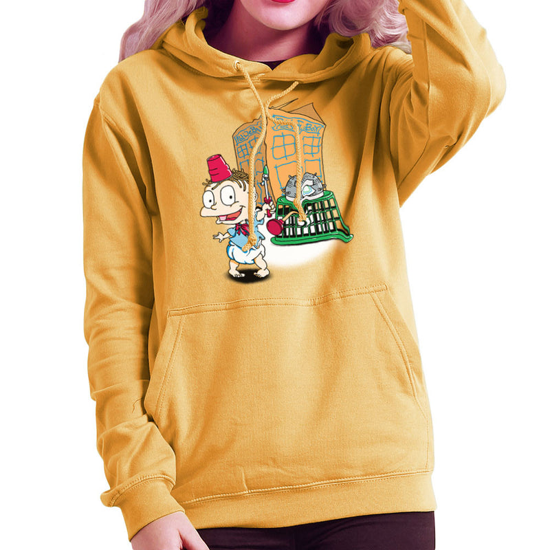 Rugrats Tommy Who Tardis Women's Hooded Sweatshirt Women's Hooded Sweatshirt Cloud City 7 - 1