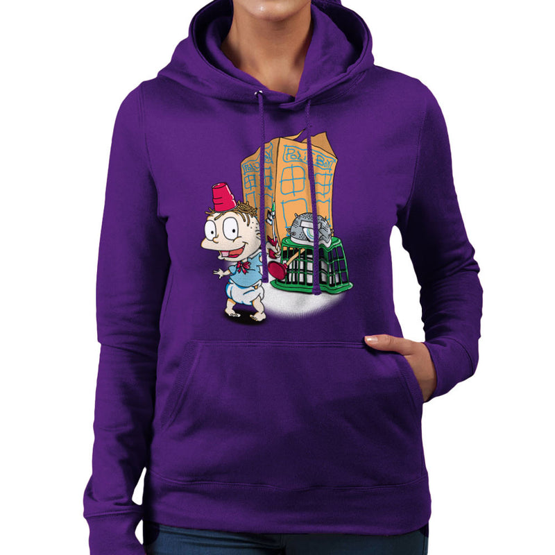 Rugrats Tommy Who Tardis Women's Hooded Sweatshirt Women's Hooded Sweatshirt Cloud City 7 - 19