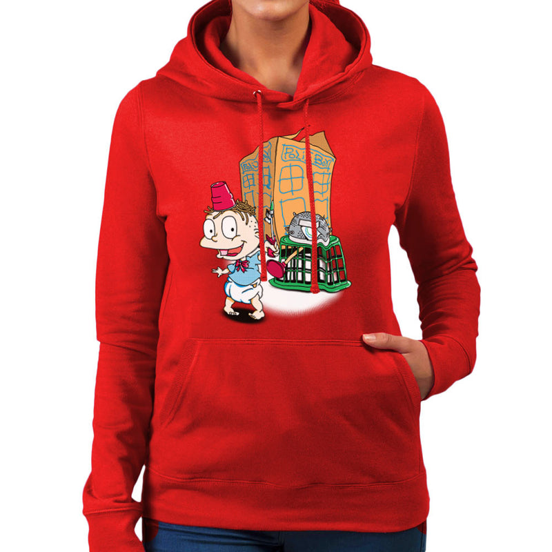 Rugrats Tommy Who Tardis Women's Hooded Sweatshirt Women's Hooded Sweatshirt Cloud City 7 - 16