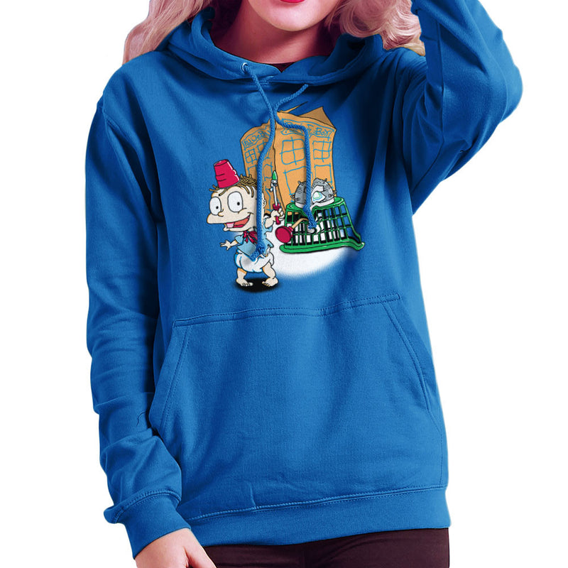 Rugrats Tommy Who Tardis Women's Hooded Sweatshirt Women's Hooded Sweatshirt Cloud City 7 - 8