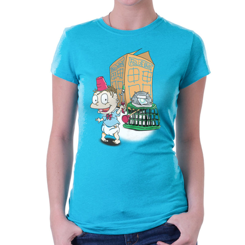 Rugrats Tommy Who Tardis Women's T-Shirt by Bryan SilverBaX - Cloud City 7