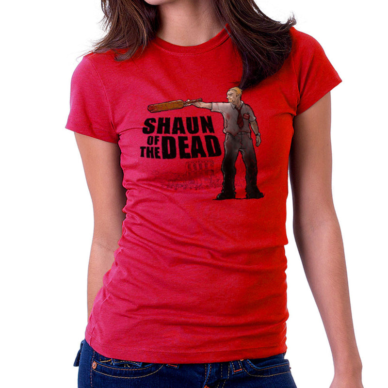 Shaun of the Walking Dead Women's T-Shirt by Bleee - Cloud City 7