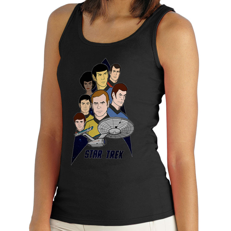 Star Trek the Animated Series Captain Kirk Spok Women's Vest by DeMilburn - Cloud City 7