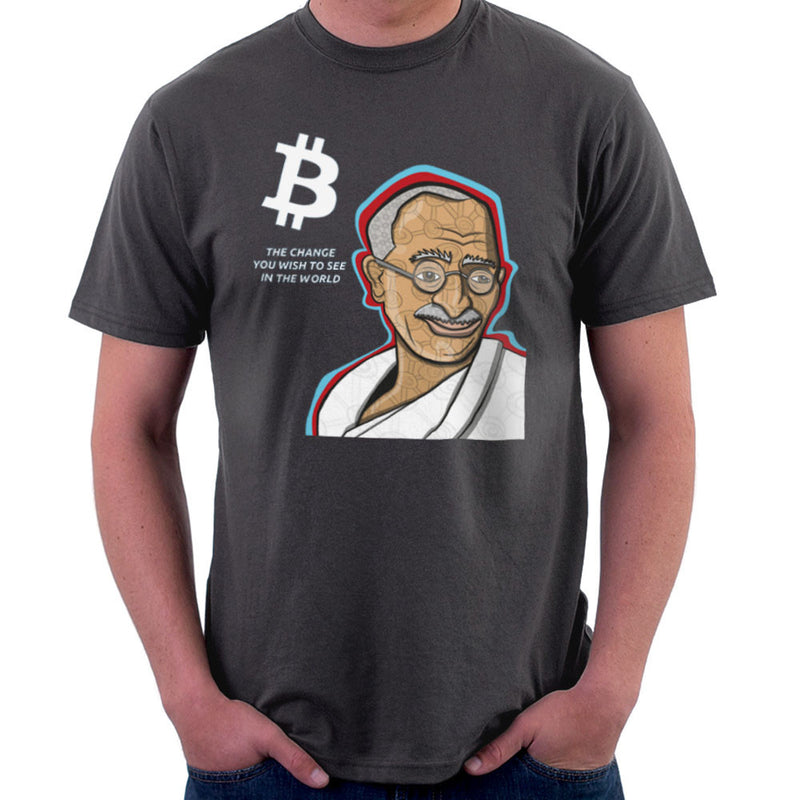 B the Change Gandhi Bitcoin design Cloud City 7 - 2