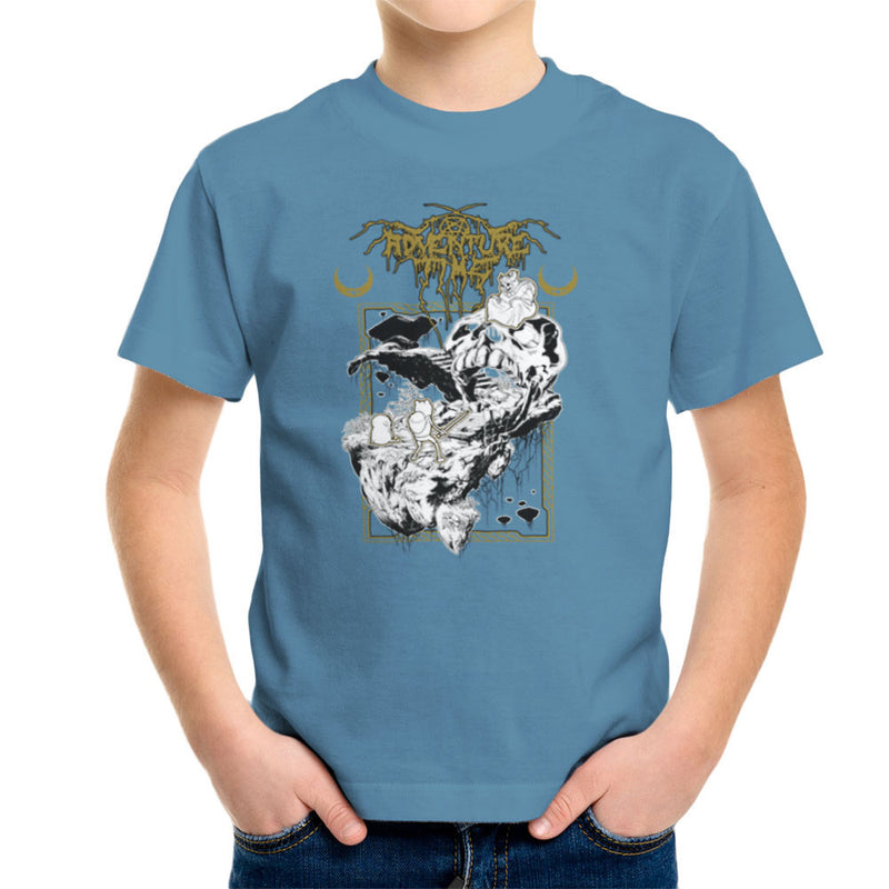 Adventure Time Dungeons and Dark Thrones Finn Jake the Lich Kid's T-Shirt by Derek Restivo - Cloud City 7