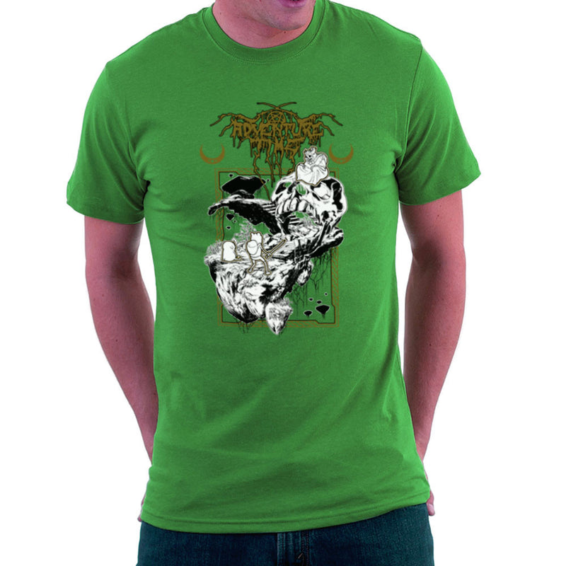 Adventure Time Dungeons and Dark Thrones Finn Jake the Lich Men's T-Shirt by Derek Restivo - Cloud City 7