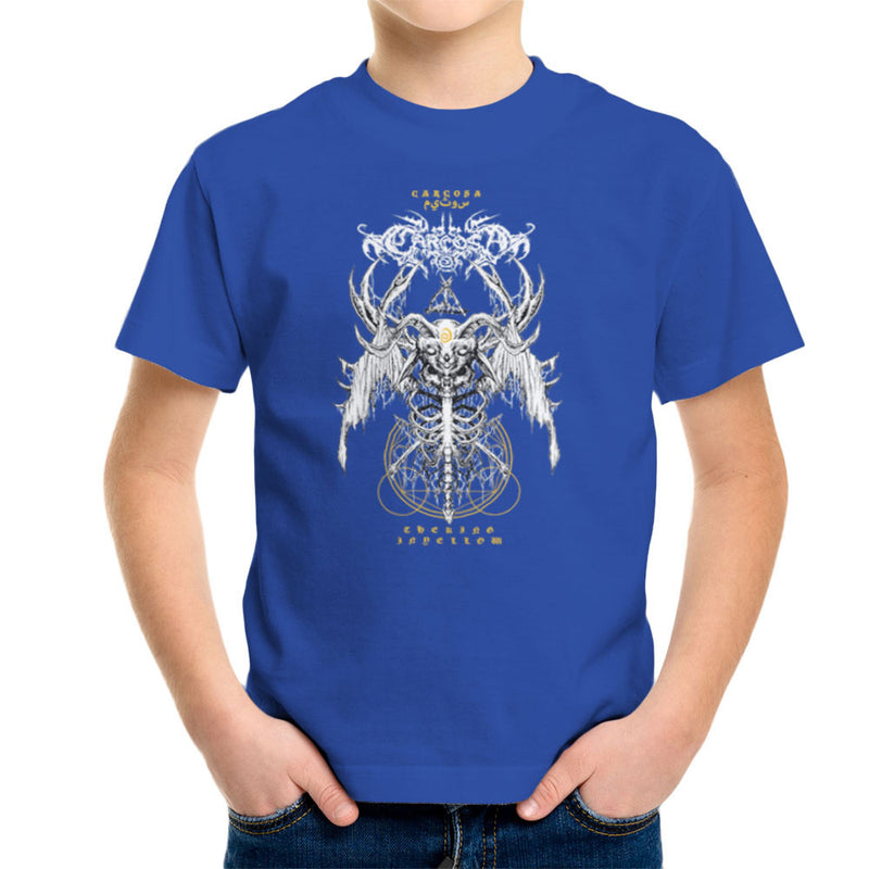 The Yellow King Carcosa True Detective Devil Net Kid's T-Shirt by Derek Restivo - Cloud City 7
