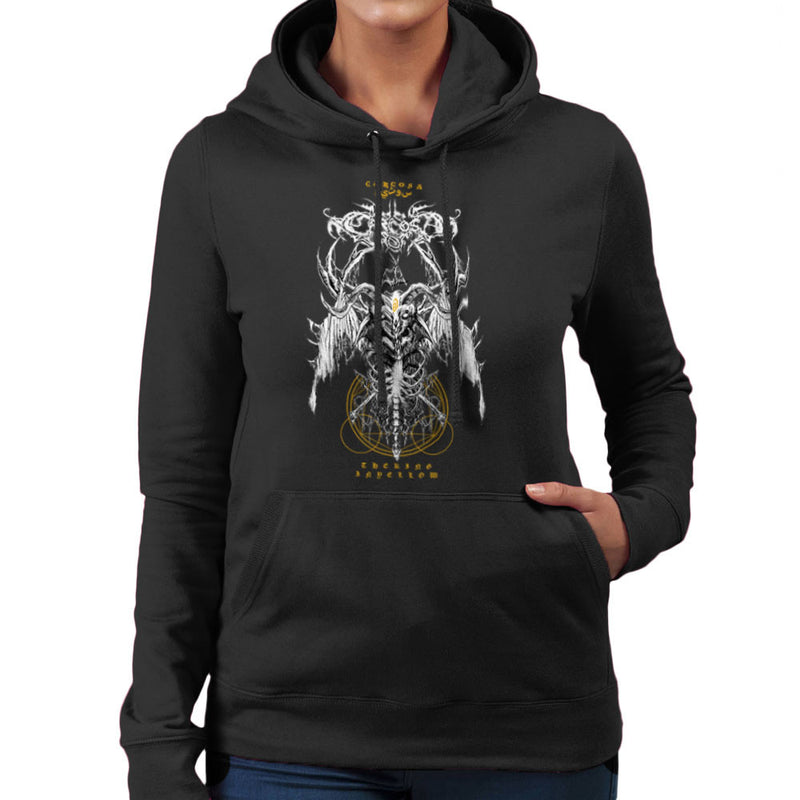 The Yellow King Carcosa True Detective Devil Net Women's Hooded Sweatshirt Women's Hooded Sweatshirt Cloud City 7 - 2