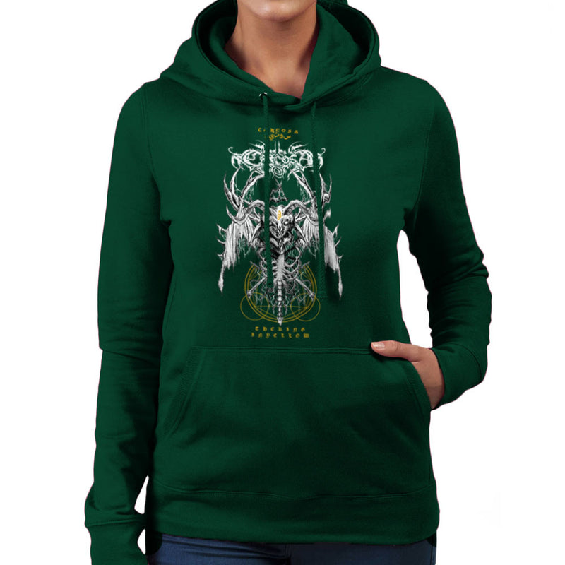 The Yellow King Carcosa True Detective Devil Net Women's Hooded Sweatshirt Women's Hooded Sweatshirt Cloud City 7 - 13