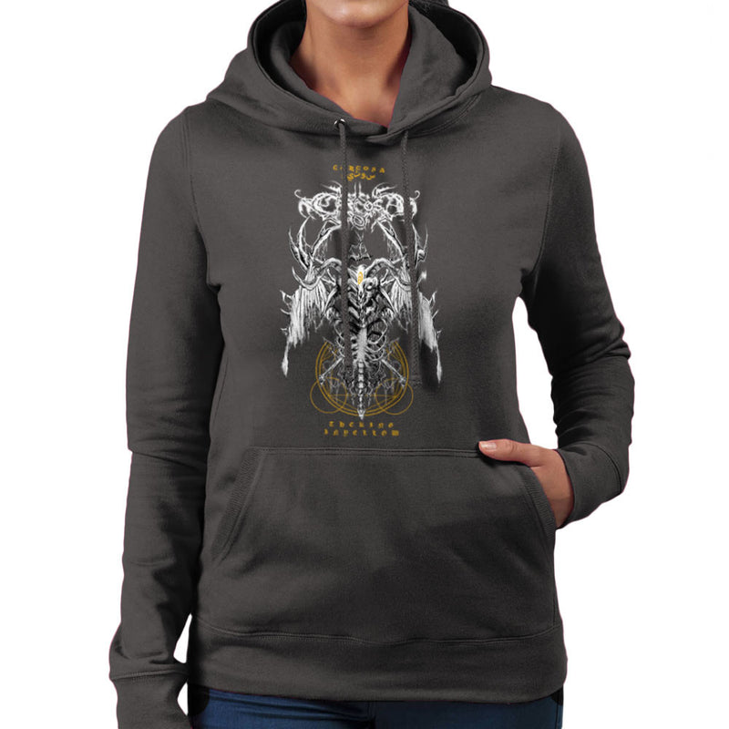 The Yellow King Carcosa True Detective Devil Net Women's Hooded Sweatshirt Women's Hooded Sweatshirt Cloud City 7 - 4