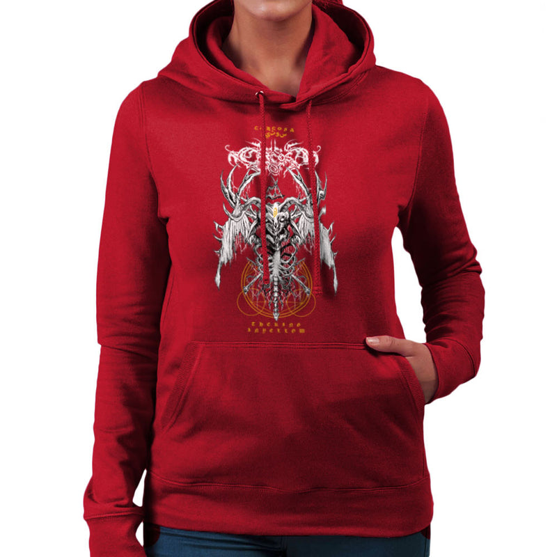 The Yellow King Carcosa True Detective Devil Net Women's Hooded Sweatshirt Women's Hooded Sweatshirt Cloud City 7 - 15