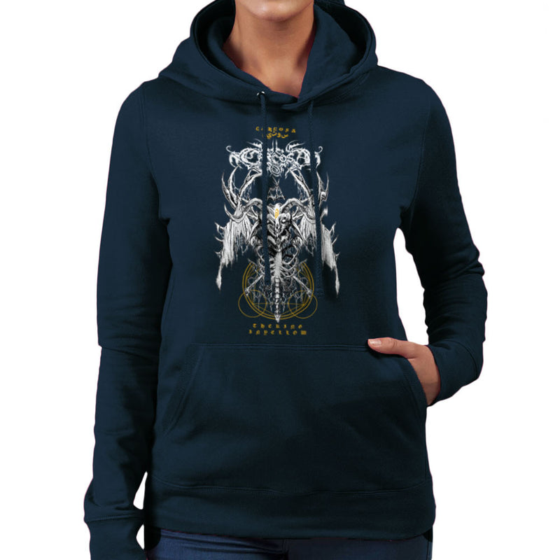 The Yellow King Carcosa True Detective Devil Net Women's Hooded Sweatshirt Women's Hooded Sweatshirt Cloud City 7 - 7