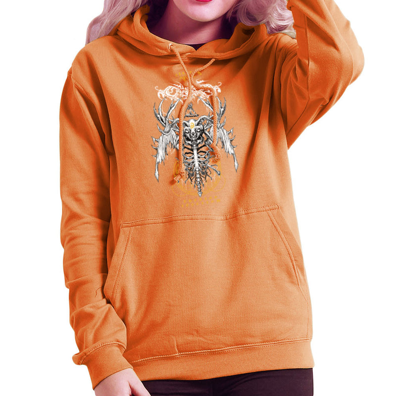 The Yellow King Carcosa True Detective Devil Net Women's Hooded Sweatshirt Women's Hooded Sweatshirt Cloud City 7 - 17