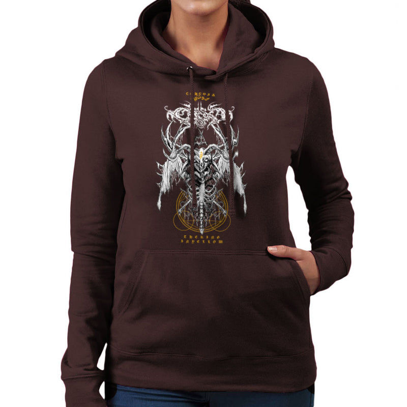 The Yellow King Carcosa True Detective Devil Net Women's Hooded Sweatshirt Women's Hooded Sweatshirt Cloud City 7 - 1