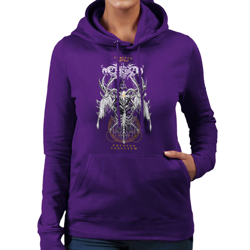 The Yellow King Carcosa True Detective Devil Net Women's Hooded Sweatshirt Women's Hooded Sweatshirt Cloud City 7 - 19