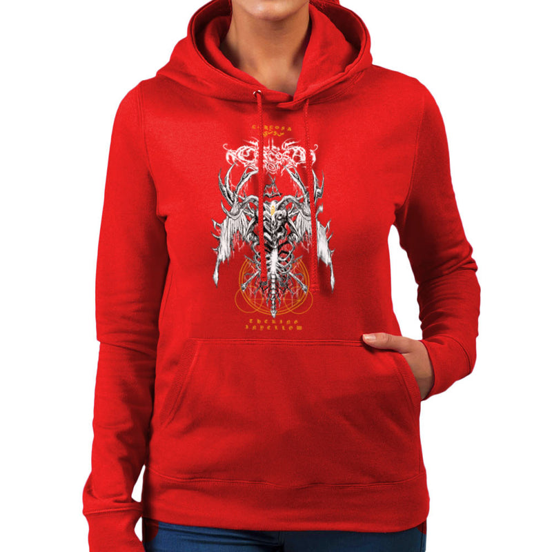 The Yellow King Carcosa True Detective Devil Net Women's Hooded Sweatshirt Women's Hooded Sweatshirt Cloud City 7 - 16
