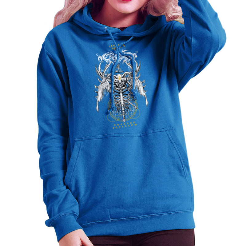 The Yellow King Carcosa True Detective Devil Net Women's Hooded Sweatshirt Women's Hooded Sweatshirt Cloud City 7 - 8