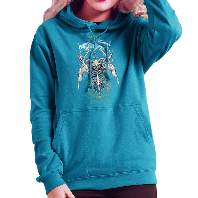 The Yellow King Carcosa True Detective Devil Net Women's Hooded Sweatshirt Women's Hooded Sweatshirt Cloud City 7 - 10