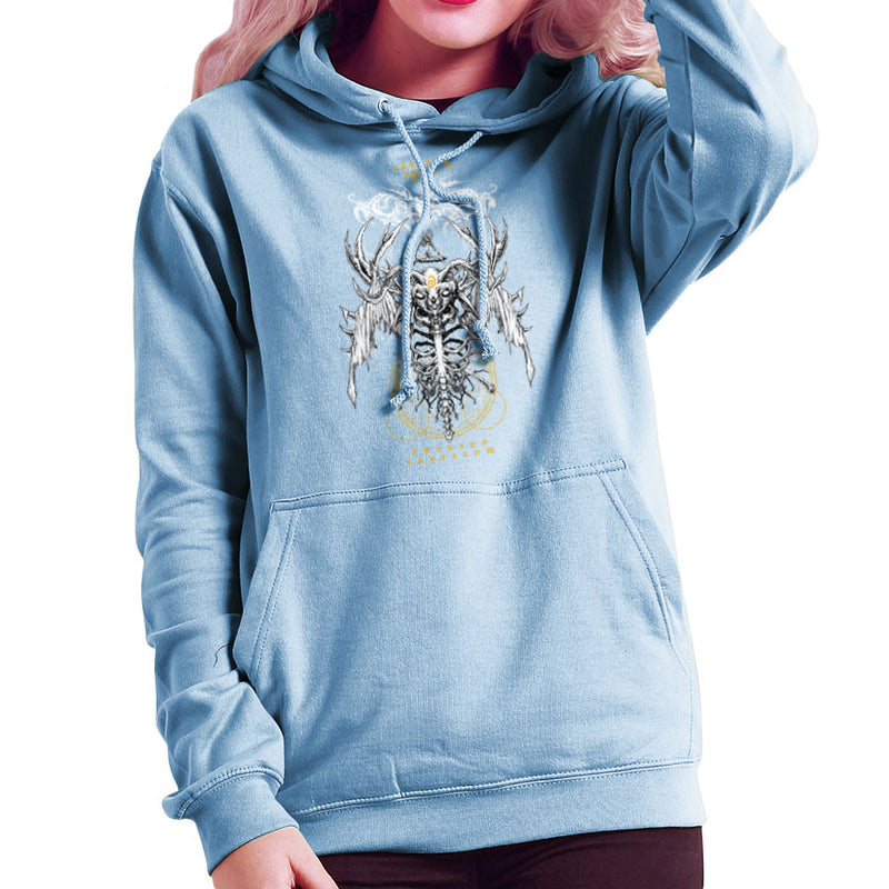 The Yellow King Carcosa True Detective Devil Net Women's Hooded Sweatshirt Women's Hooded Sweatshirt Cloud City 7 - 11