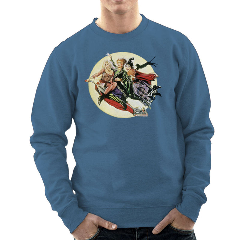 Hocus Pocus Winnifred Sarah Mary Witches Men's Sweatshirt by Hilarious Delusions - Cloud City 7