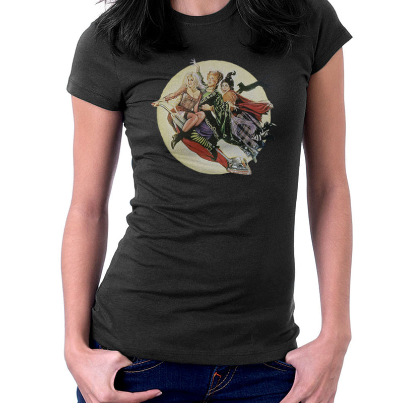 Hocus Pocus Winnifred Sarah Mary Witches Women's T-Shirt by Hilarious Delusions - Cloud City 7