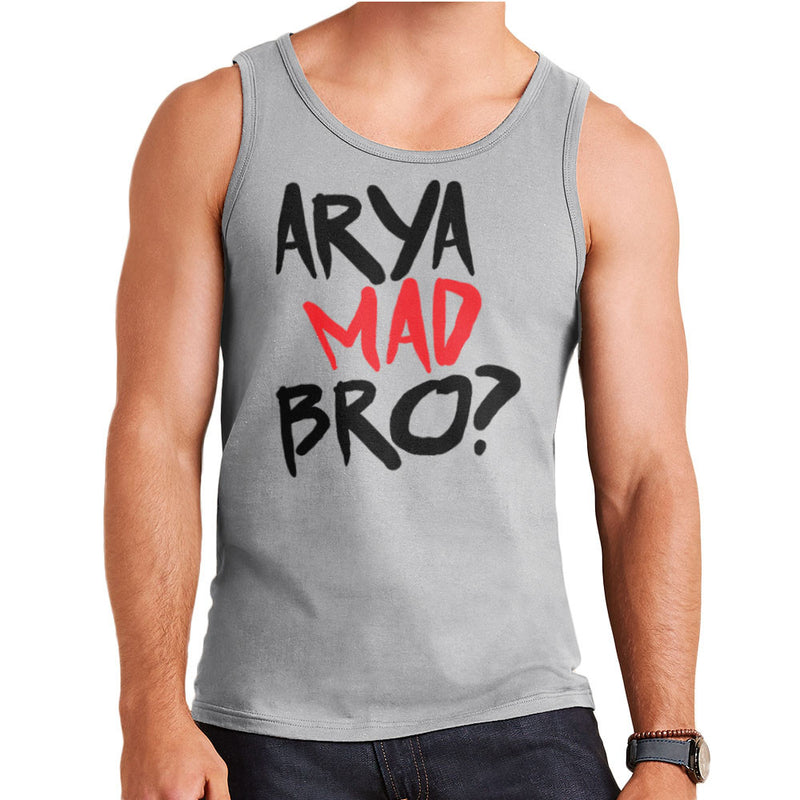 Game of Thrones Arya Mad Bro? Stark Graffiti  Men's Vest Men's Vest Cloud City 7 - 4