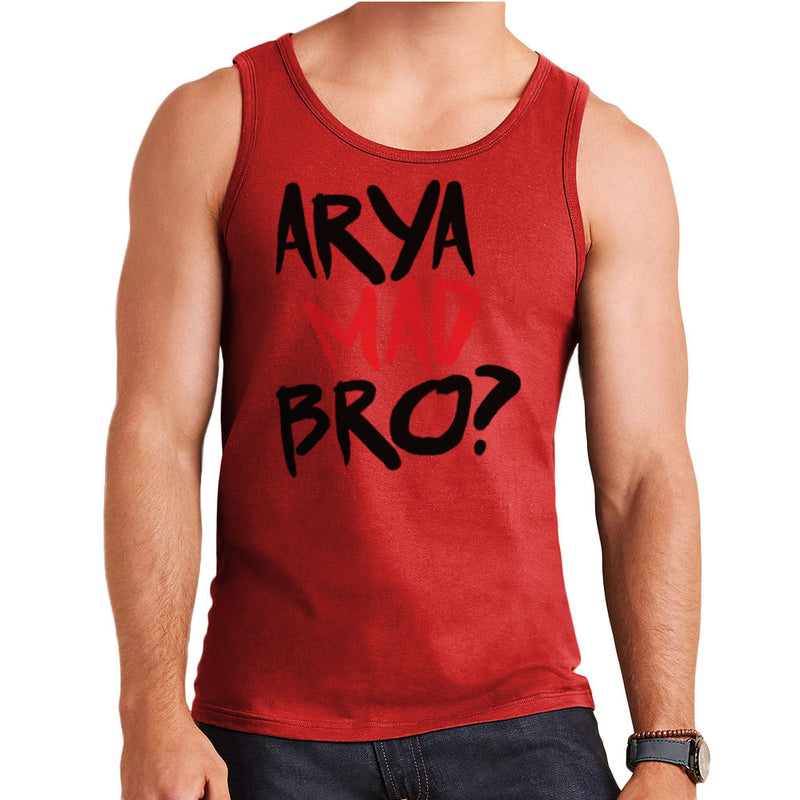 Game of Thrones Arya Mad Bro? Stark Graffiti  Men's Vest Men's Vest Cloud City 7 - 7