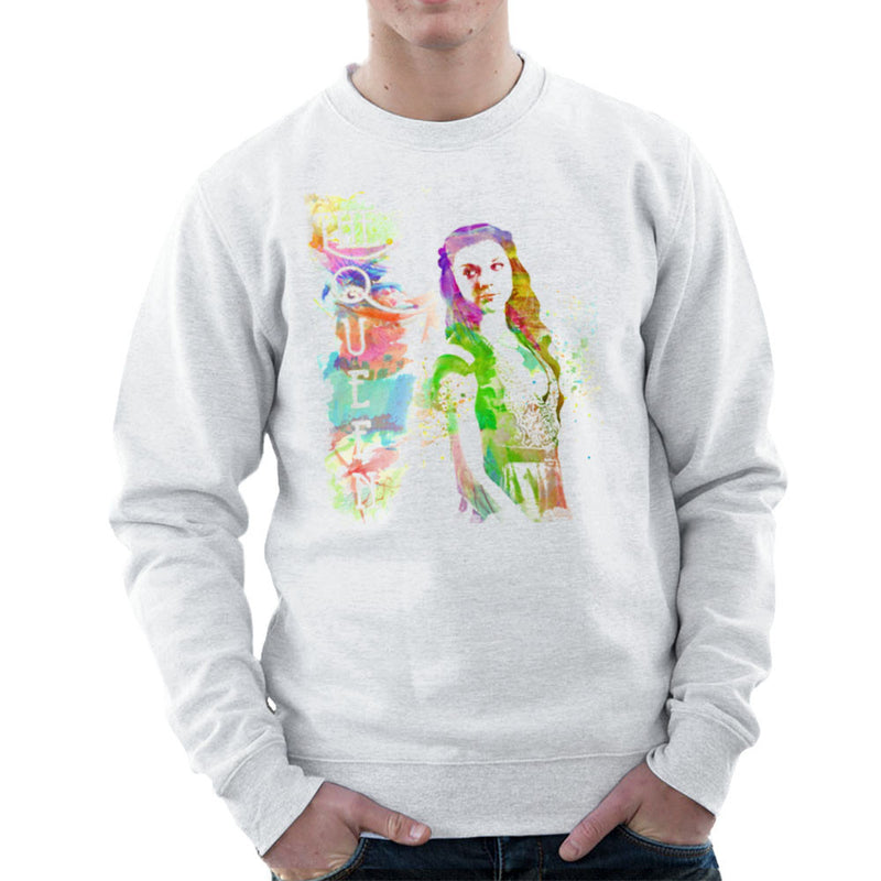 Game of Thrones Margaery Tyrell on Splatter the Queen Men's Sweatshirt by Hilarious Delusions - Cloud City 7