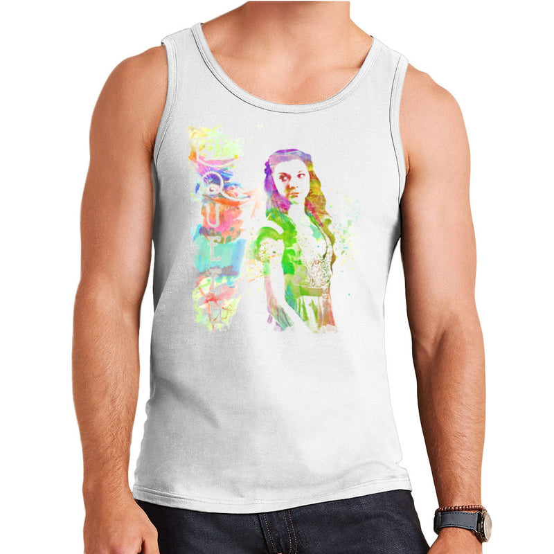 Game of Thrones Margaery Tyrell on Splatter the Queen Men's Vest by Hilarious Delusions - Cloud City 7