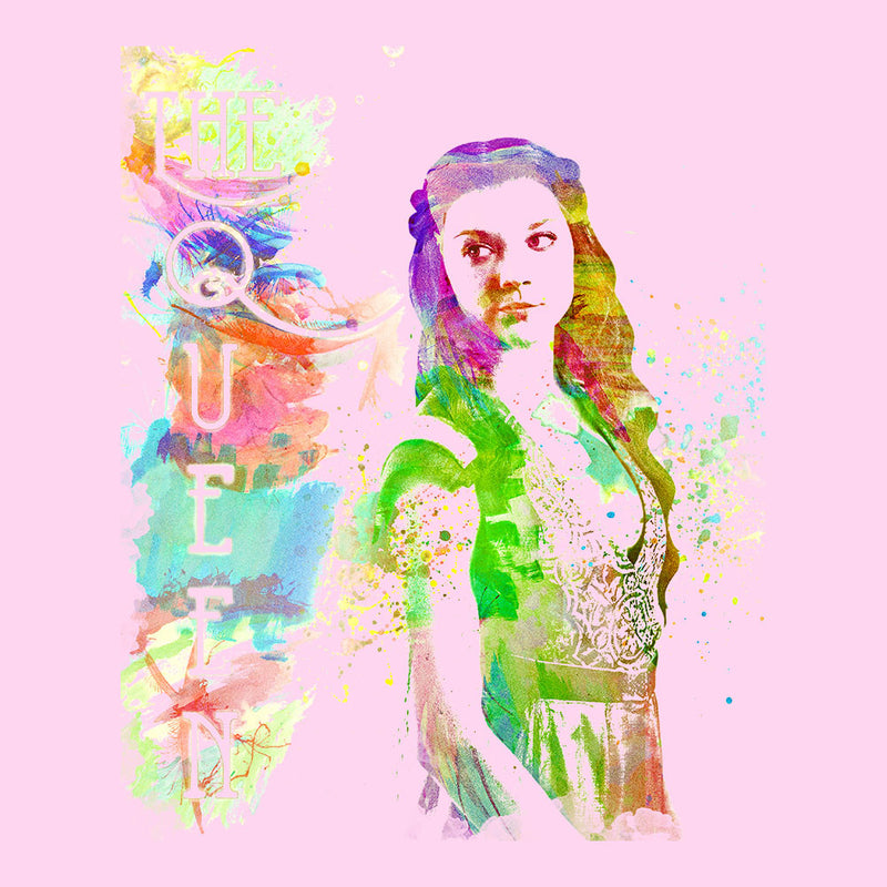 Game of Thrones Margaery Tyrell on Splatter the Queen Women's T-Shirt by Hilarious Delusions - Cloud City 7