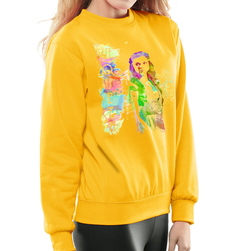 Game of Thrones Margaery Tyrell on Splatter the Queen Women's Sweatshirt by Hilarious Delusions - Cloud City 7
