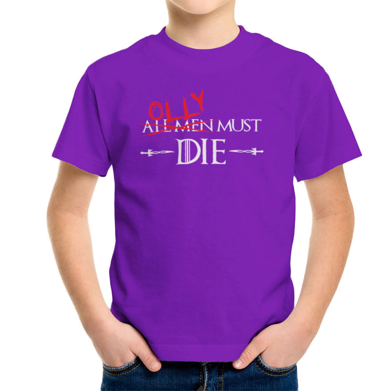 Game of Thrones Olly Must Die Kid's T-Shirt by Hilarious Delusions - Cloud City 7