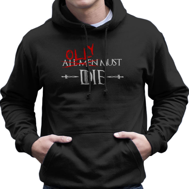 Game of Thrones Olly Must Die Men's Hooded Sweatshirt by Hilarious Delusions - Cloud City 7