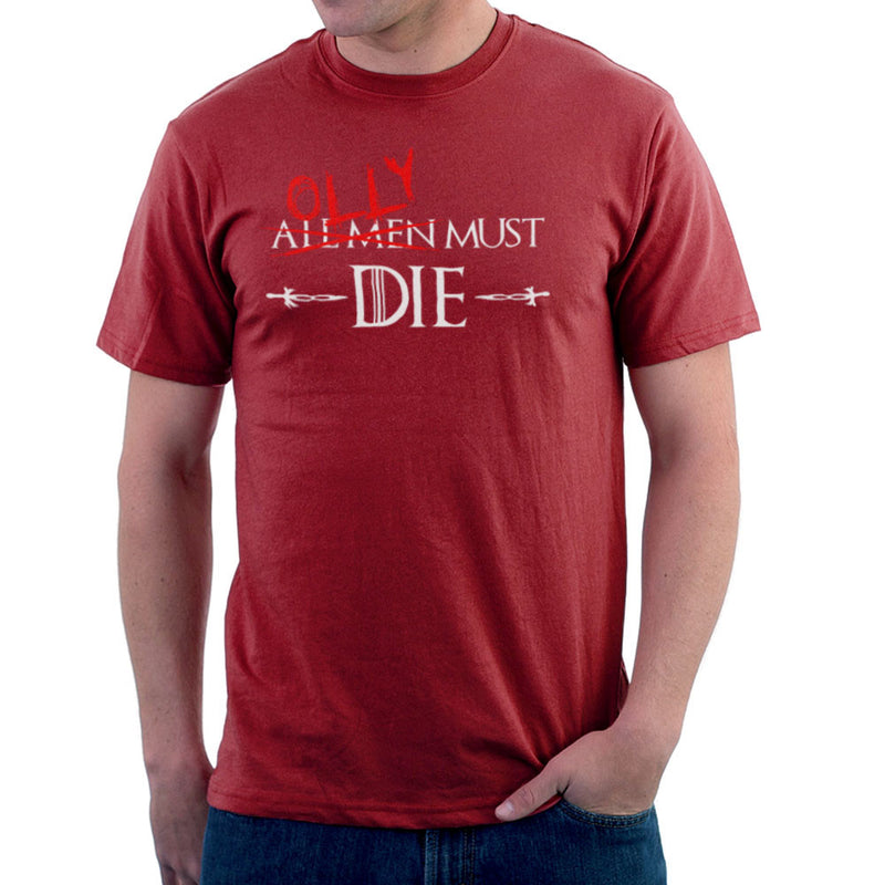 Game of Thrones Olly Must Die Men's T-Shirt by Hilarious Delusions - Cloud City 7