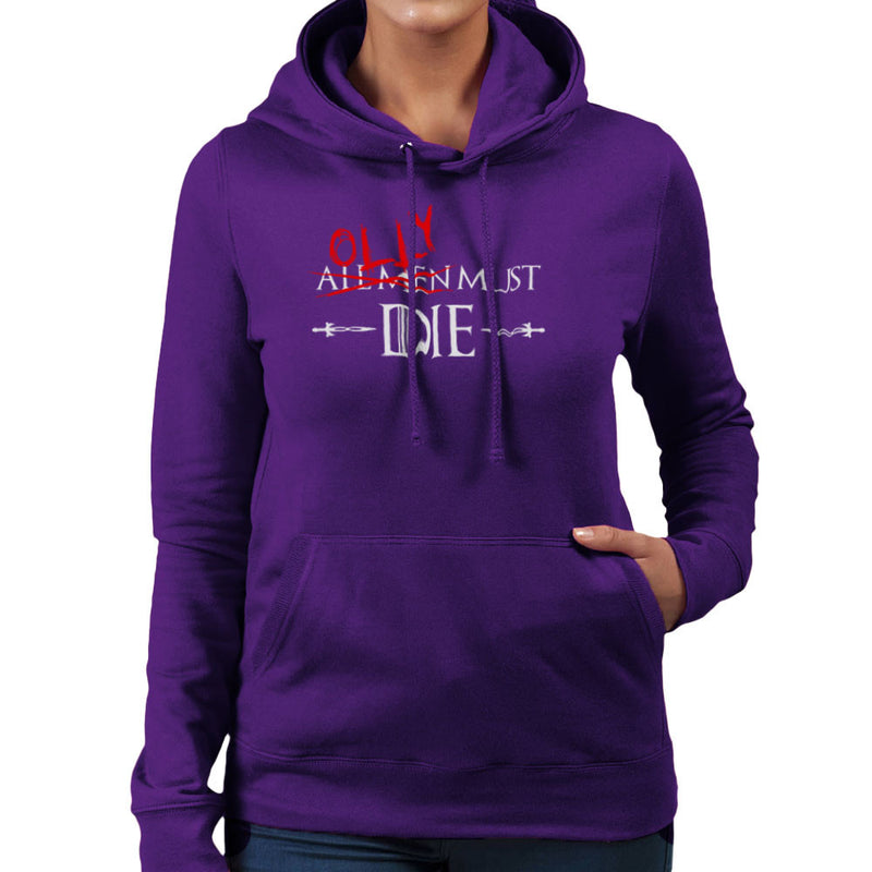 Game of Thrones Olly Must Die Women's Hooded Sweatshirt by Hilarious Delusions - Cloud City 7
