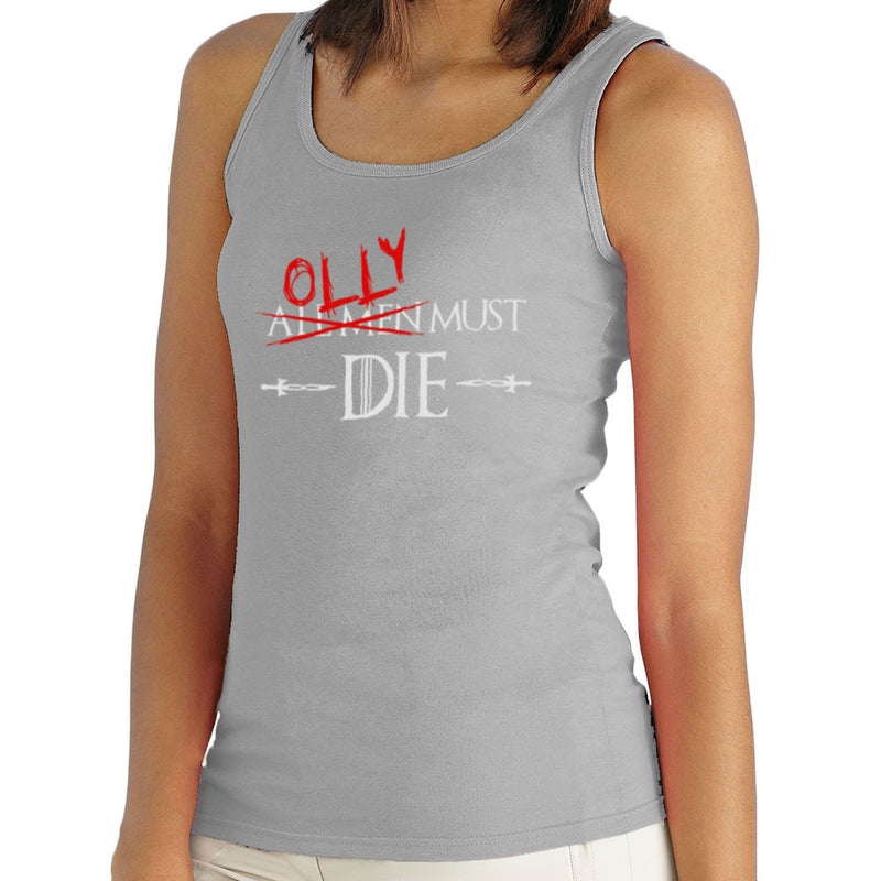 Game of Thrones Olly Must Die  Women's Vest Women's Vest Cloud City 7 - 4