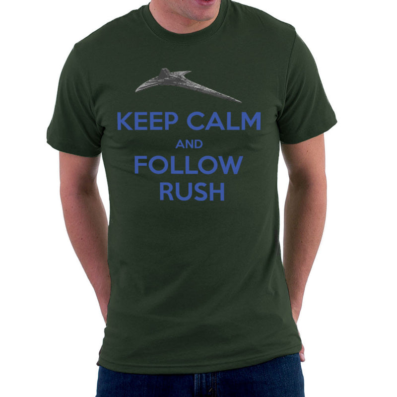 Stargate Universe Keep Calm and Follow Rush Destiny Men's T-Shirt Men's T-Shirt Cloud City 7 - 13