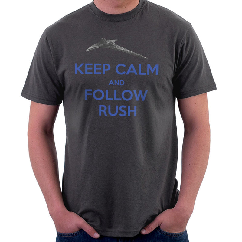 Stargate Universe Keep Calm and Follow Rush Destiny Men's T-Shirt Men's T-Shirt Cloud City 7 - 4