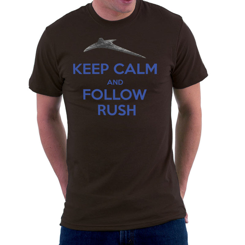 Stargate Universe Keep Calm and Follow Rush Destiny Men's T-Shirt Men's T-Shirt Cloud City 7 - 12