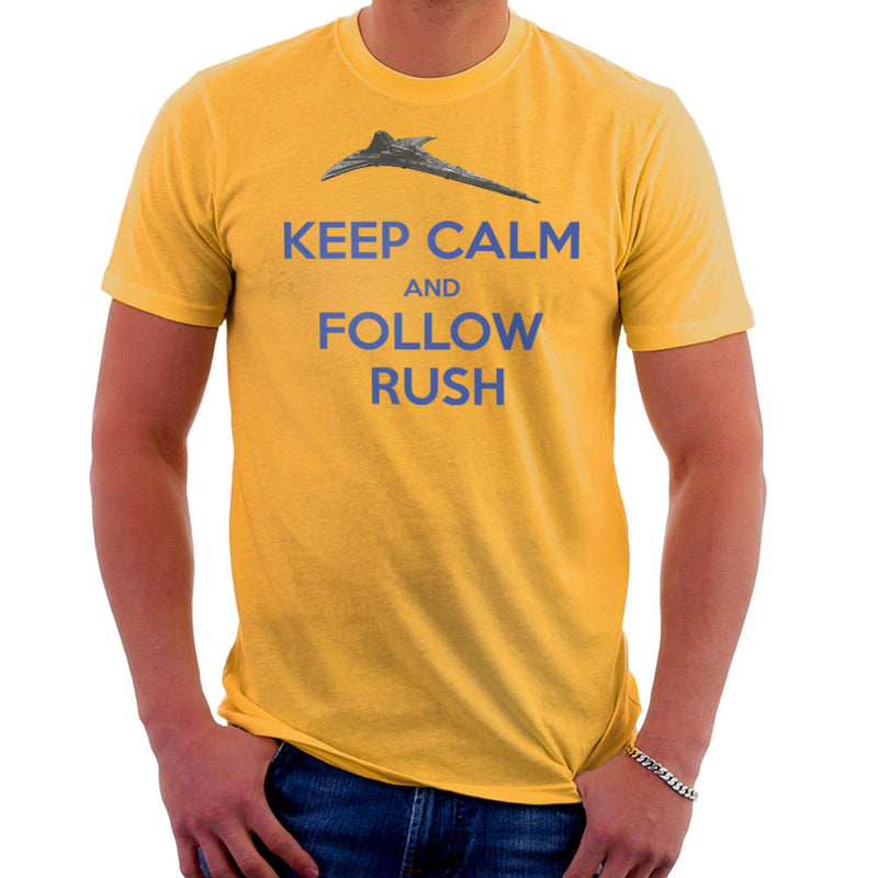 Stargate Universe Keep Calm and Follow Rush Destiny Men's T-Shirt Men's T-Shirt Cloud City 7 - 18