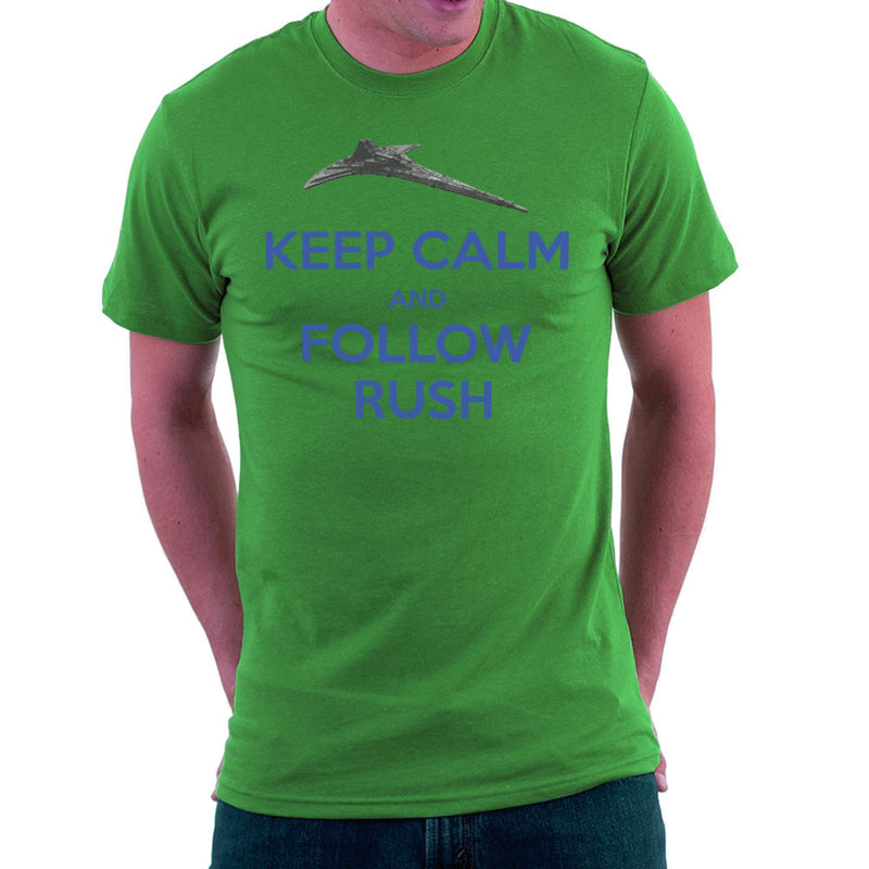 Stargate Universe Keep Calm and Follow Rush Destiny Men's T-Shirt Men's T-Shirt Cloud City 7 - 14