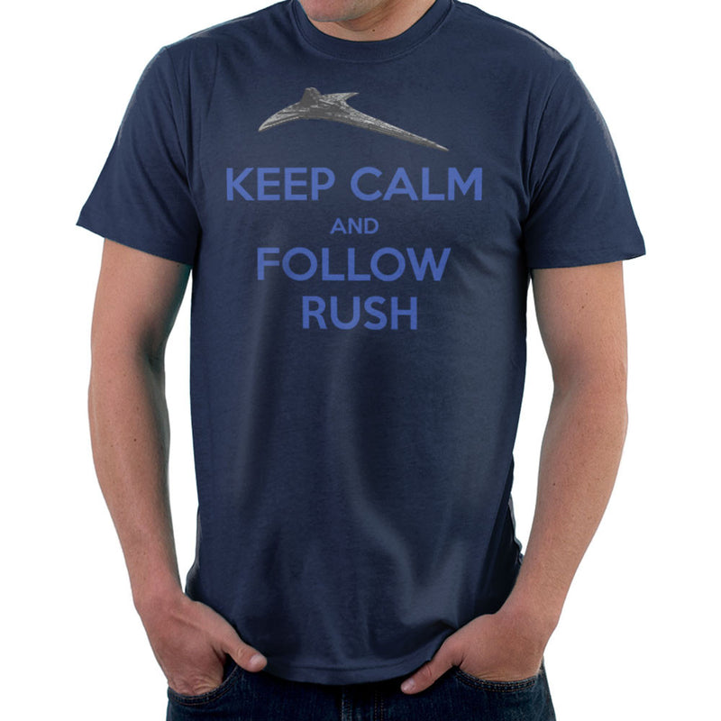 Stargate Universe Keep Calm and Follow Rush Destiny Men's T-Shirt Men's T-Shirt Cloud City 7 - 7