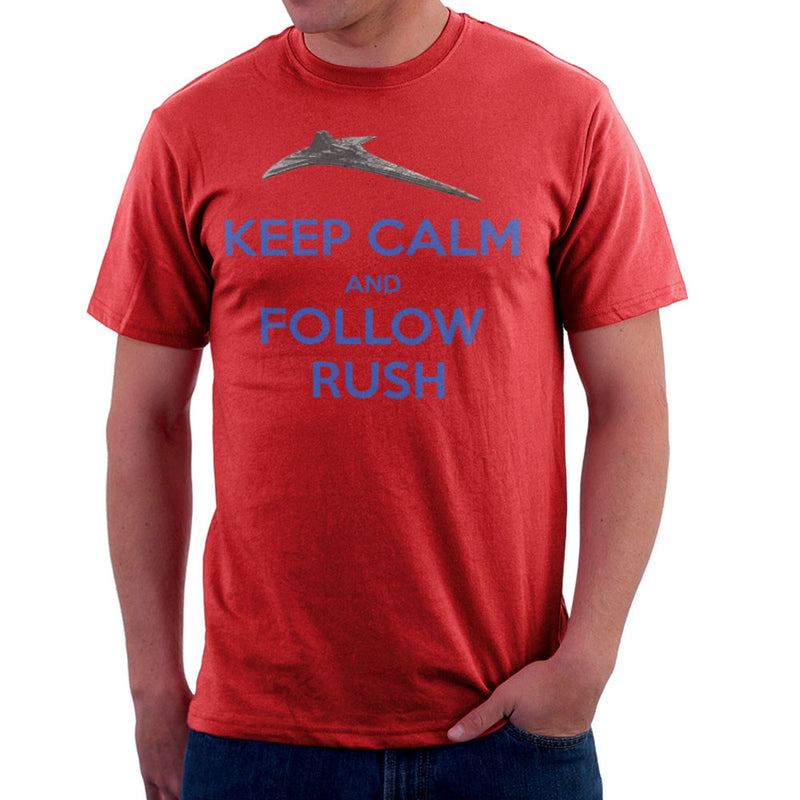 Stargate Universe Keep Calm and Follow Rush Destiny Men's T-Shirt Men's T-Shirt Cloud City 7 - 16