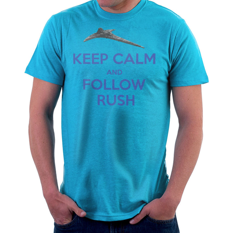 Stargate Universe Keep Calm and Follow Rush Destiny Men's T-Shirt Men's T-Shirt Cloud City 7 - 10